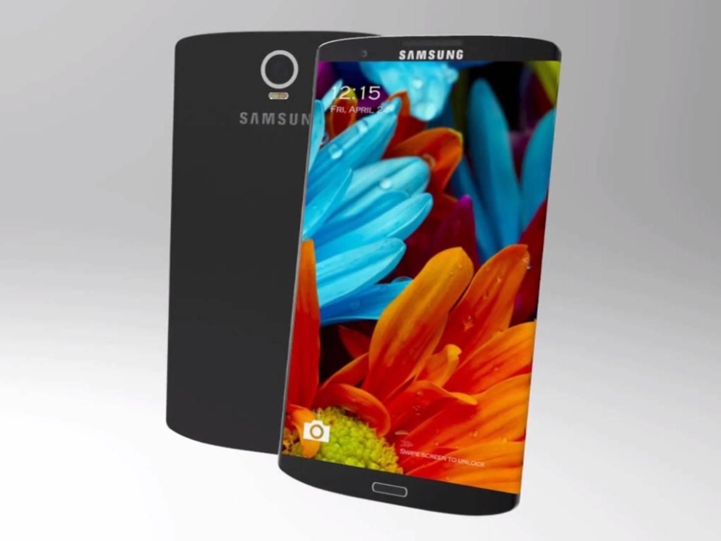 Konzept zum Samsung Galaxy S6