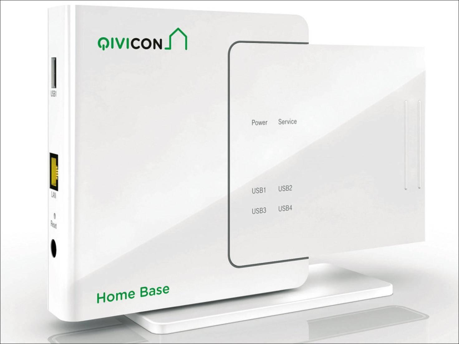 Die Qivicon Home Base: Anfängerpakete der Telekom benötigen diese zentrale Steuereinheit.
