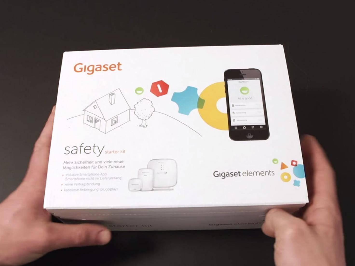 Das Starterpaket von Gigaset spricht vor allem sicherheitsbewusste Käufer an.