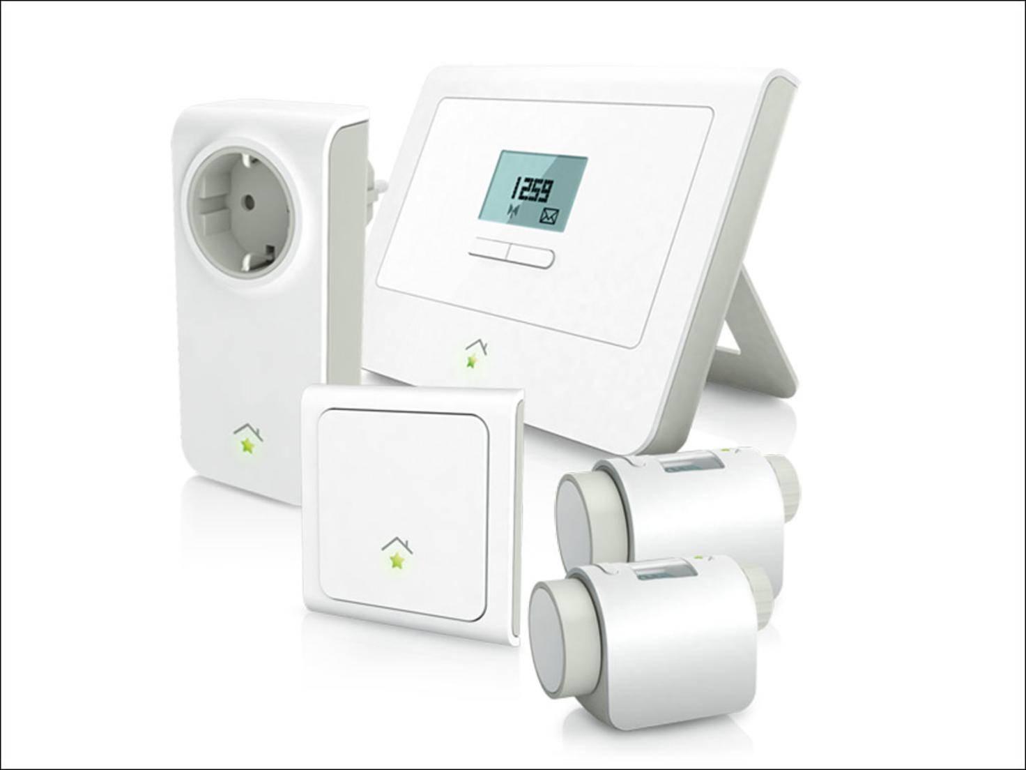 Das Einsteigerpaket von RWE Smarthome bietet etliche Möglichkeiten, Geräte zu steuern.