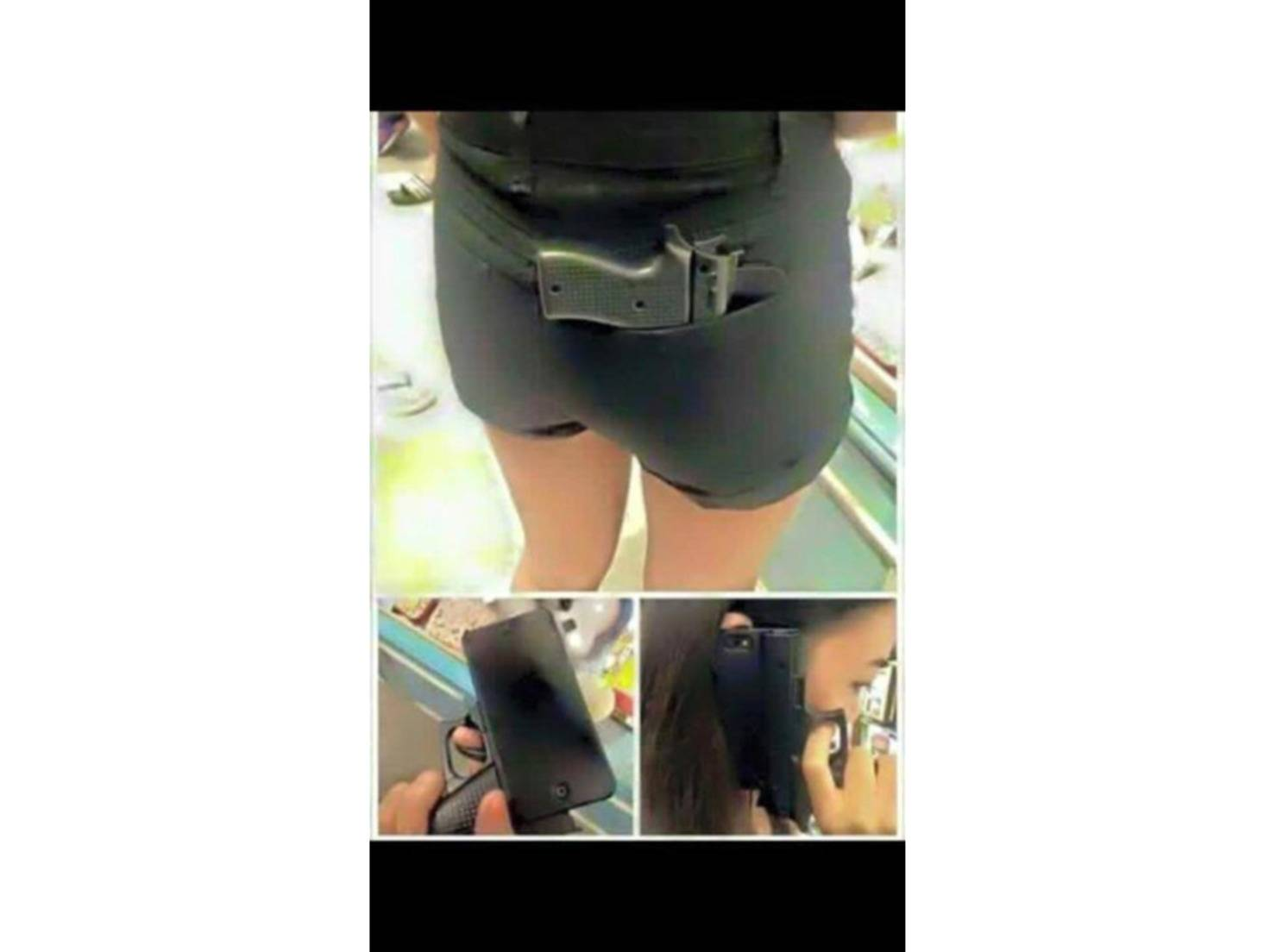 Gun Grip iPhone Case