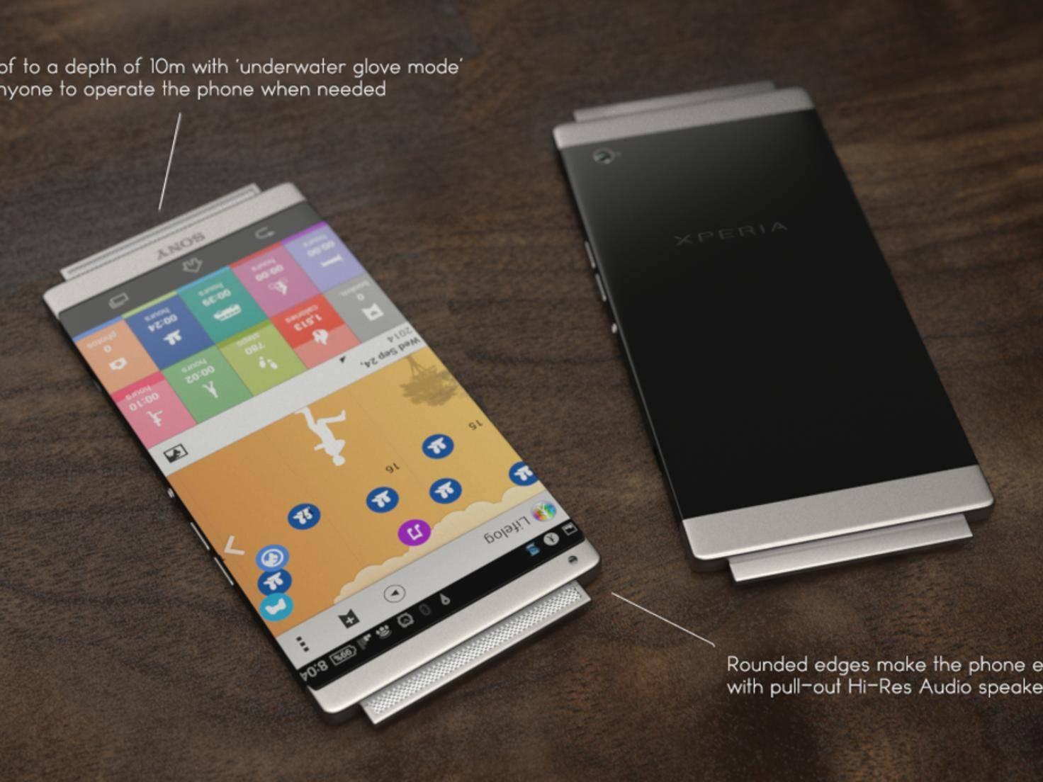 Sony Xperia Z5 Konzept