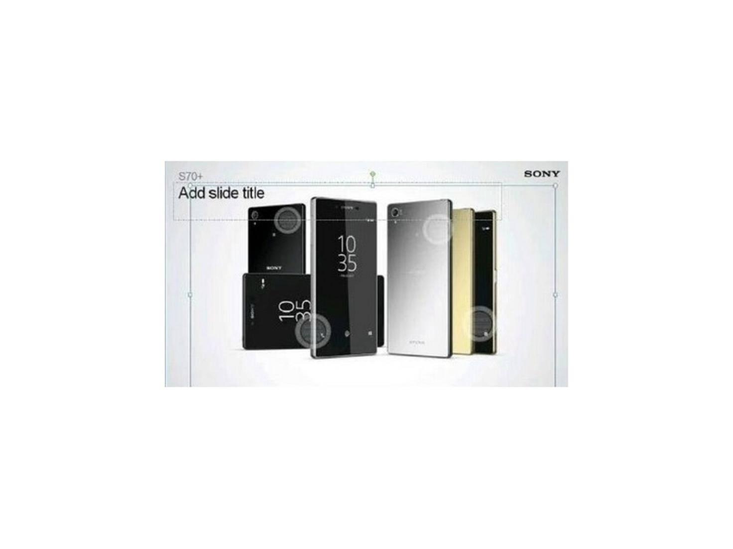 Xperia Z5+ Leak