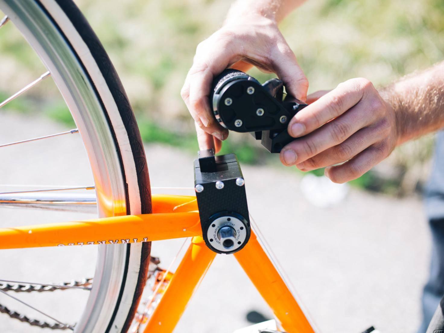 turn on innovation mini motor macht aus jedem rad ein e bike. Black Bedroom Furniture Sets. Home Design Ideas