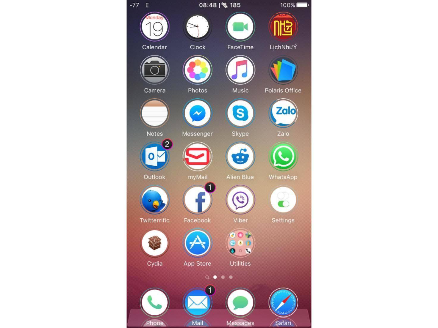 Anemone-Tweak für iOS 9-Jailbreak