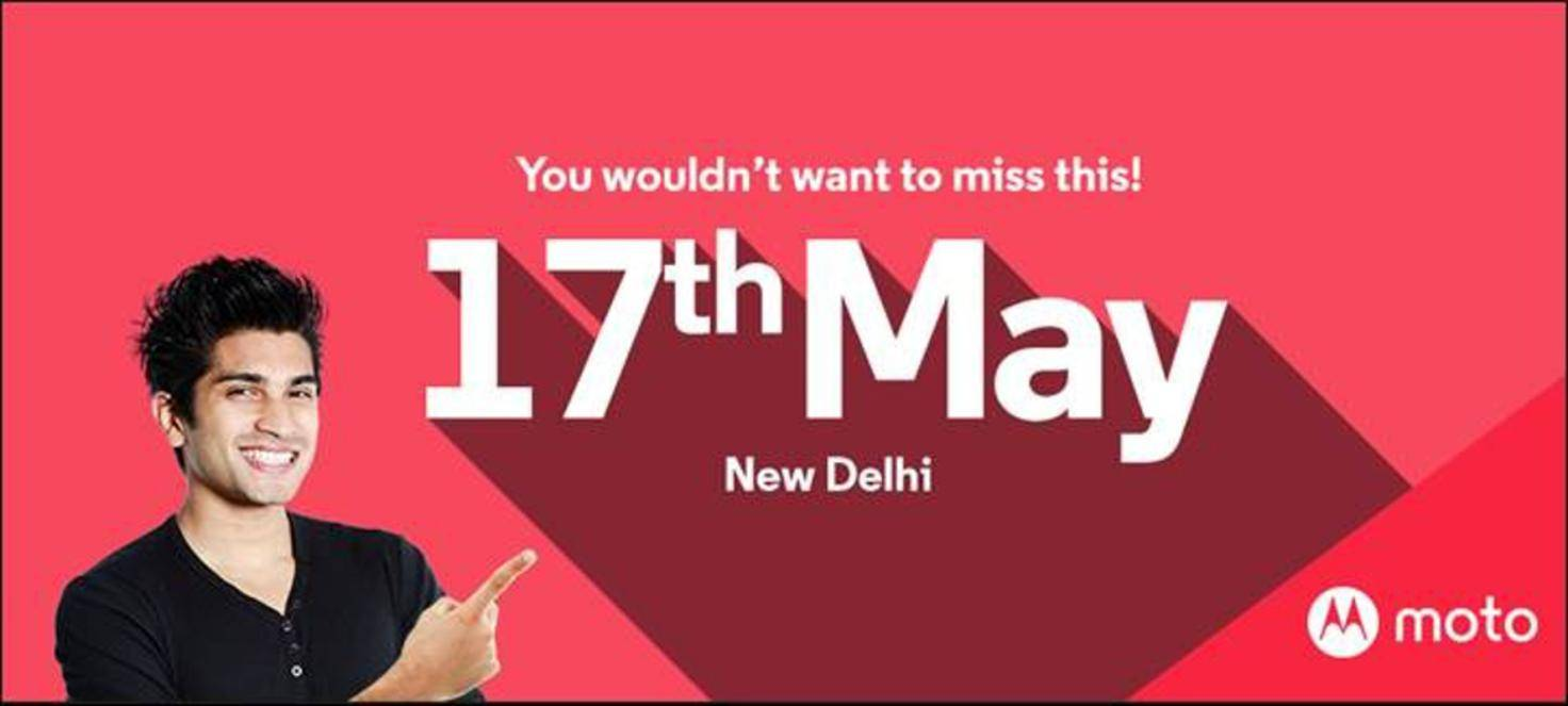 Motorola-Einladung für Moto G4-Event