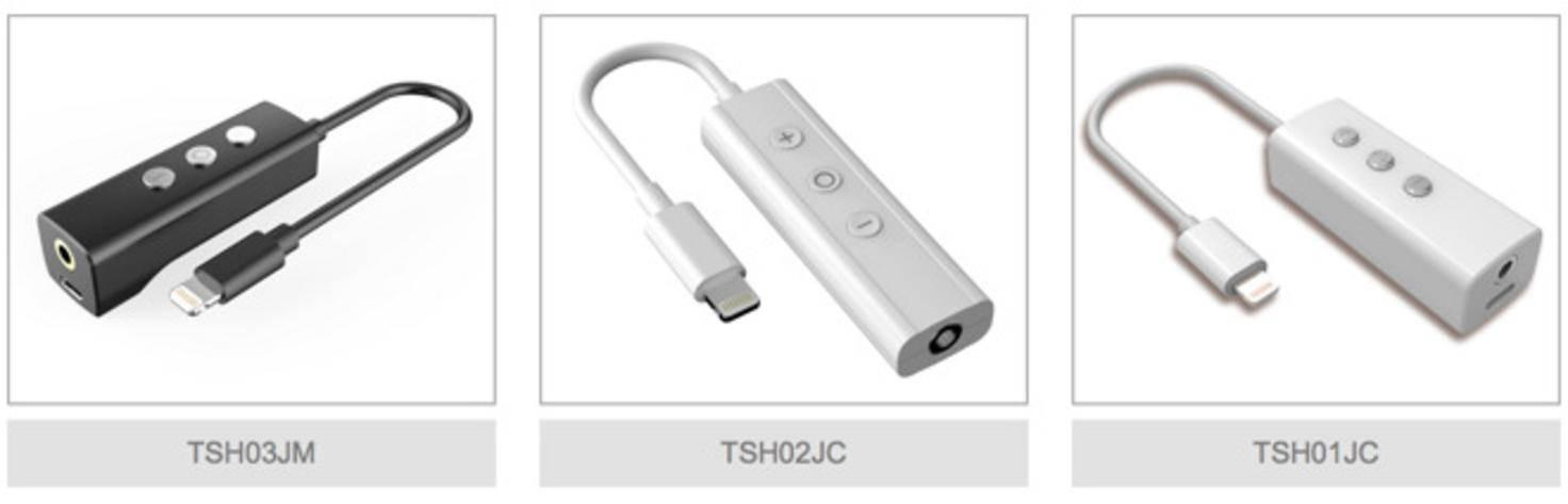 Tama Electric Apple Lightning Klinke Adapter