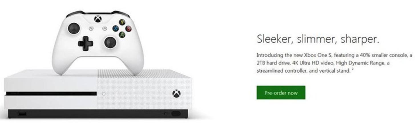 Xbox One Slim Leak