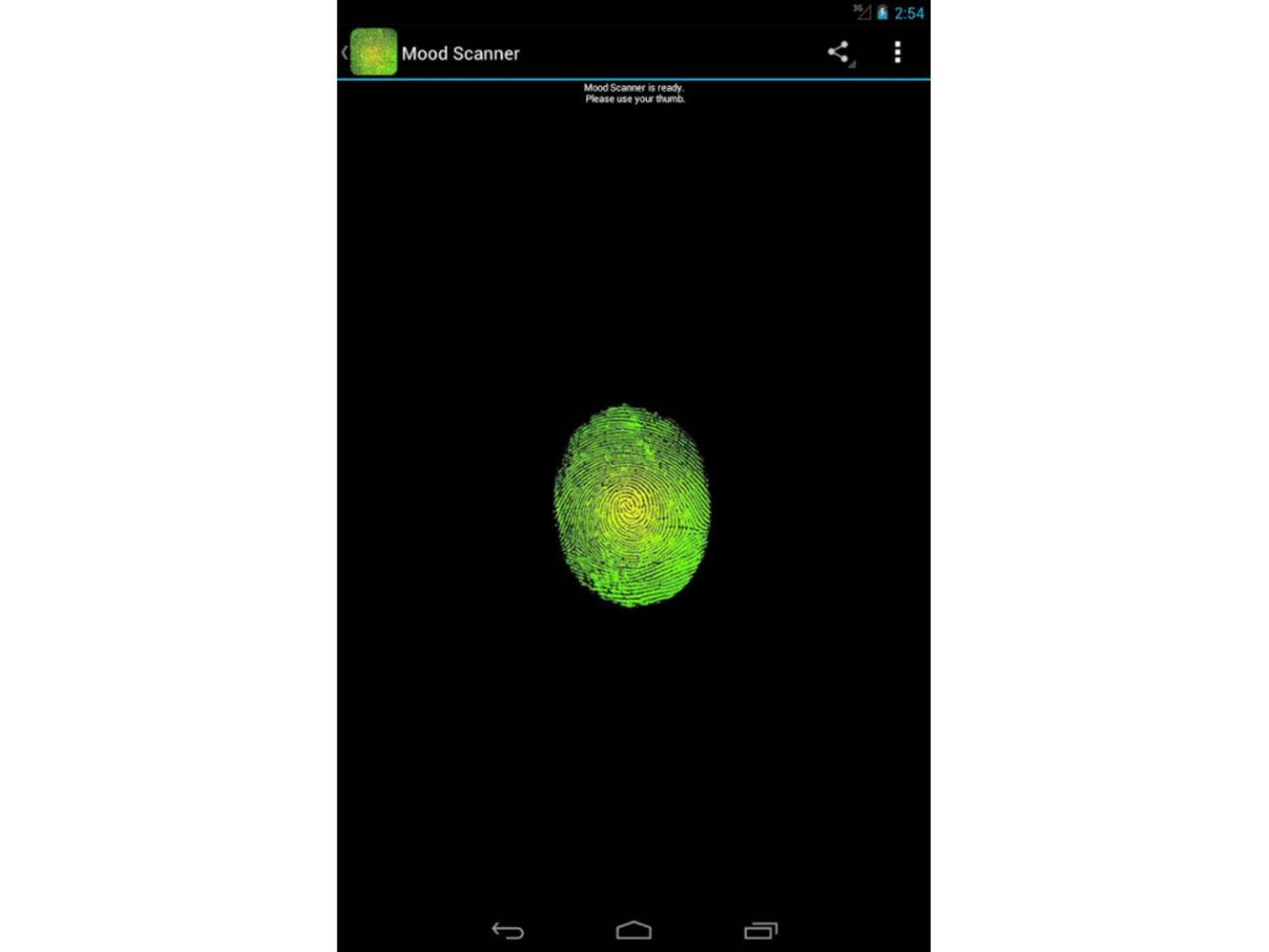 Mood Scanner Android App