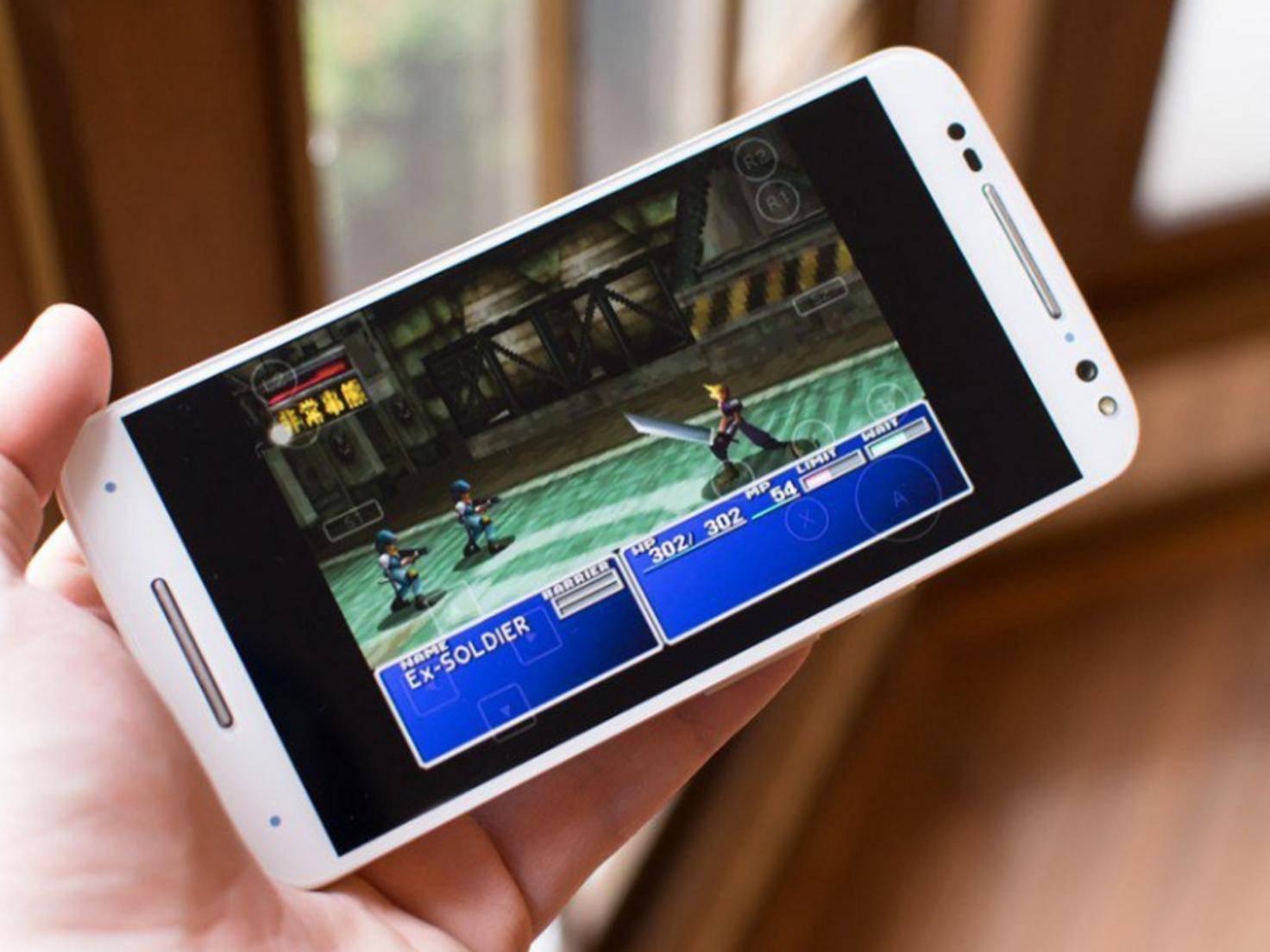 Final Fantasy VII Smartphone Game