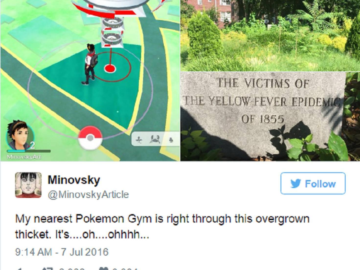 Pokestop_Pokémon_Gelbfieber