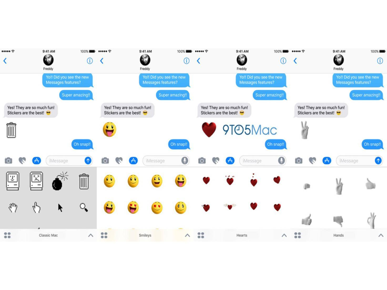 iOS 10 Sticker-Packs 9to5Mac