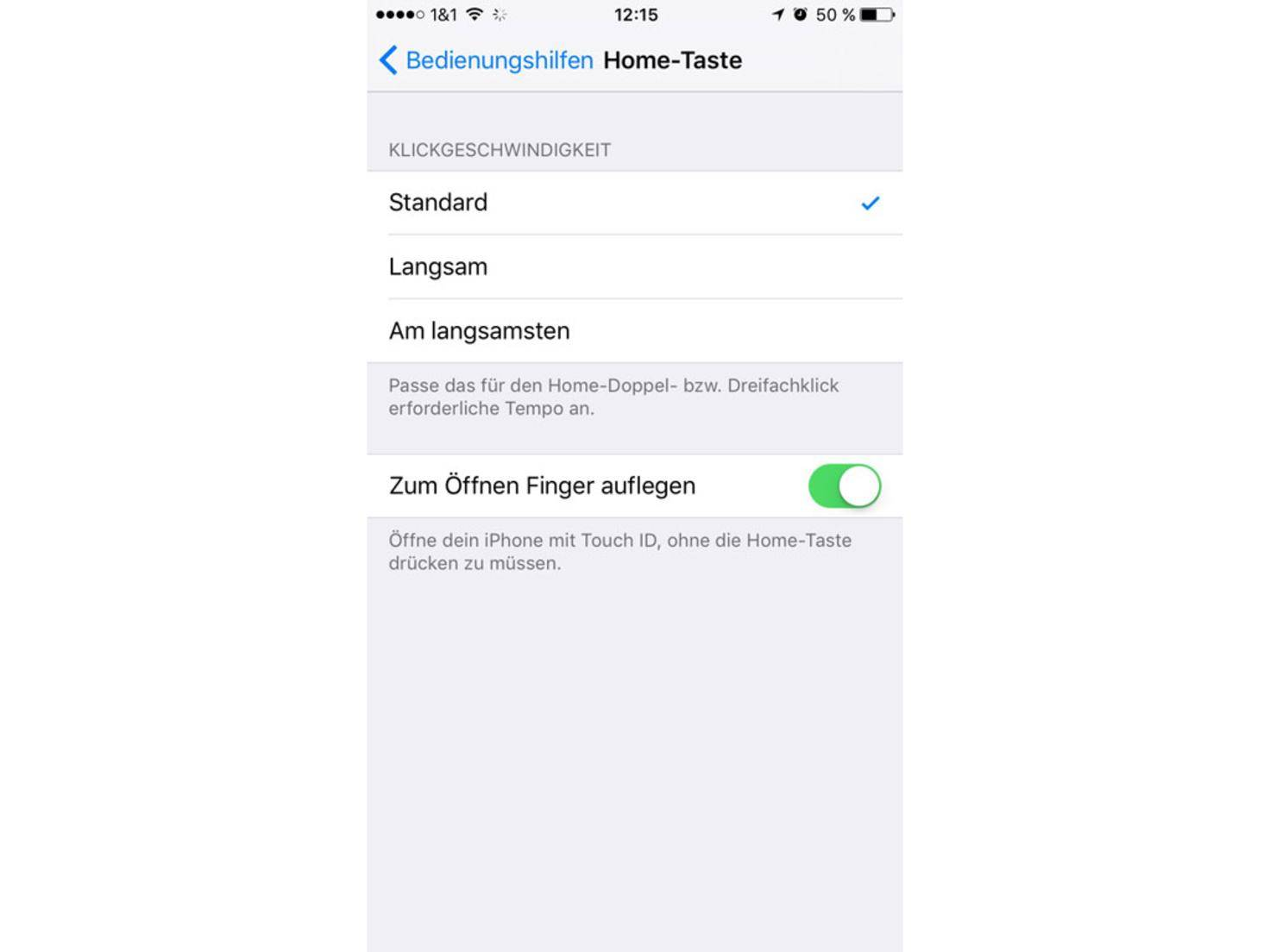 iOS 10 entsperren