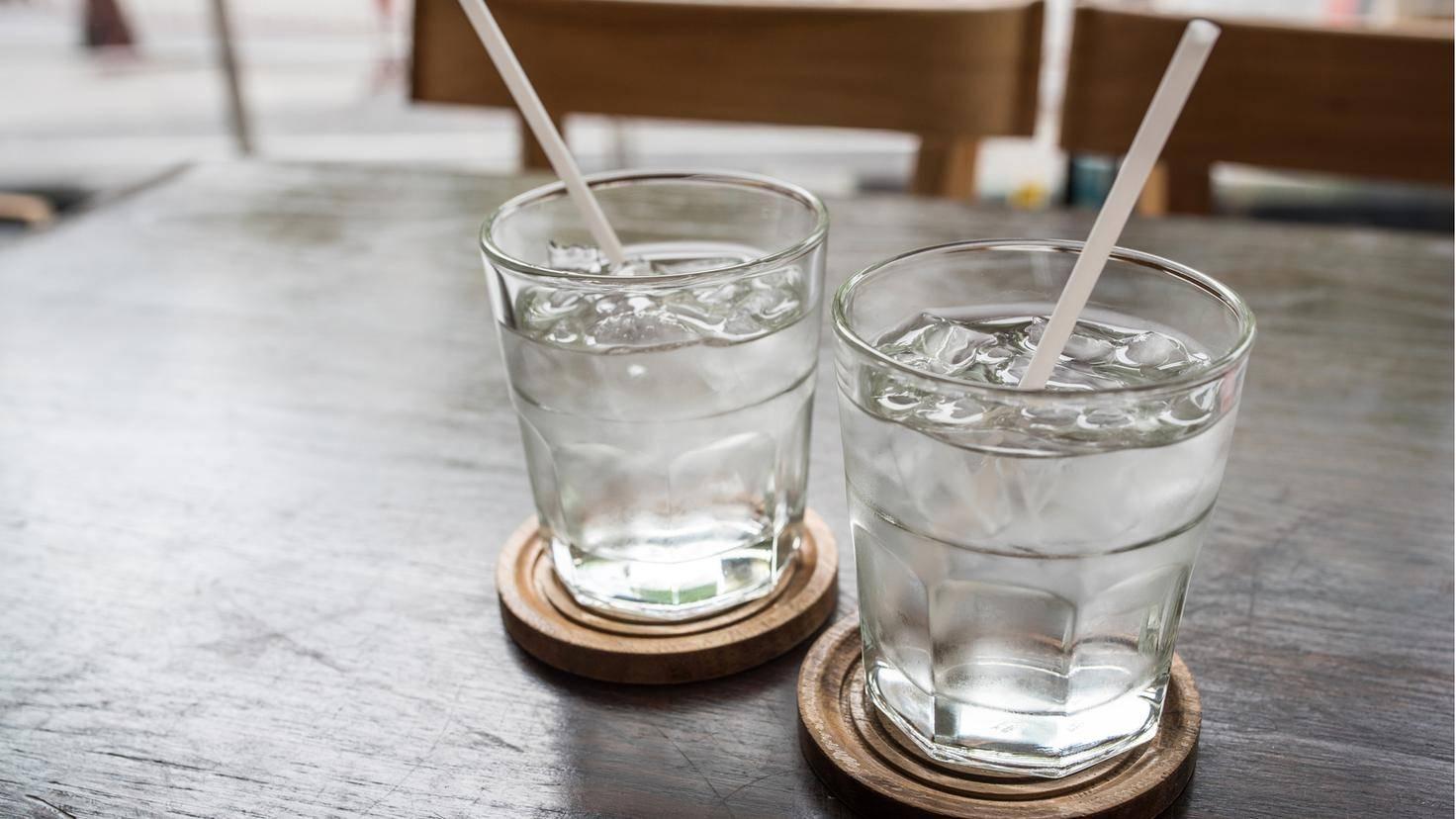 Wasser hat keine einzige Kalorie.