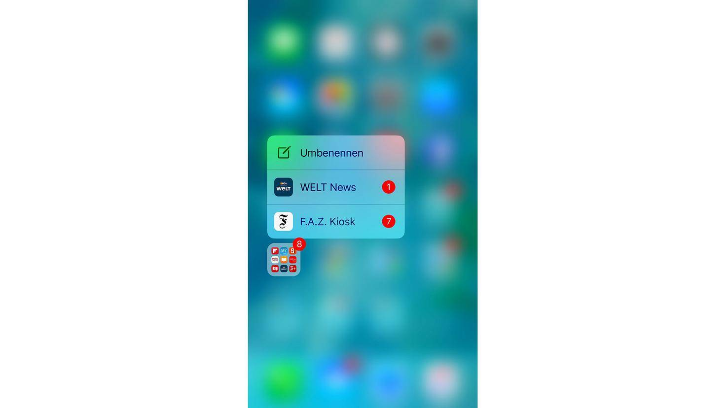 3D Touch Badge