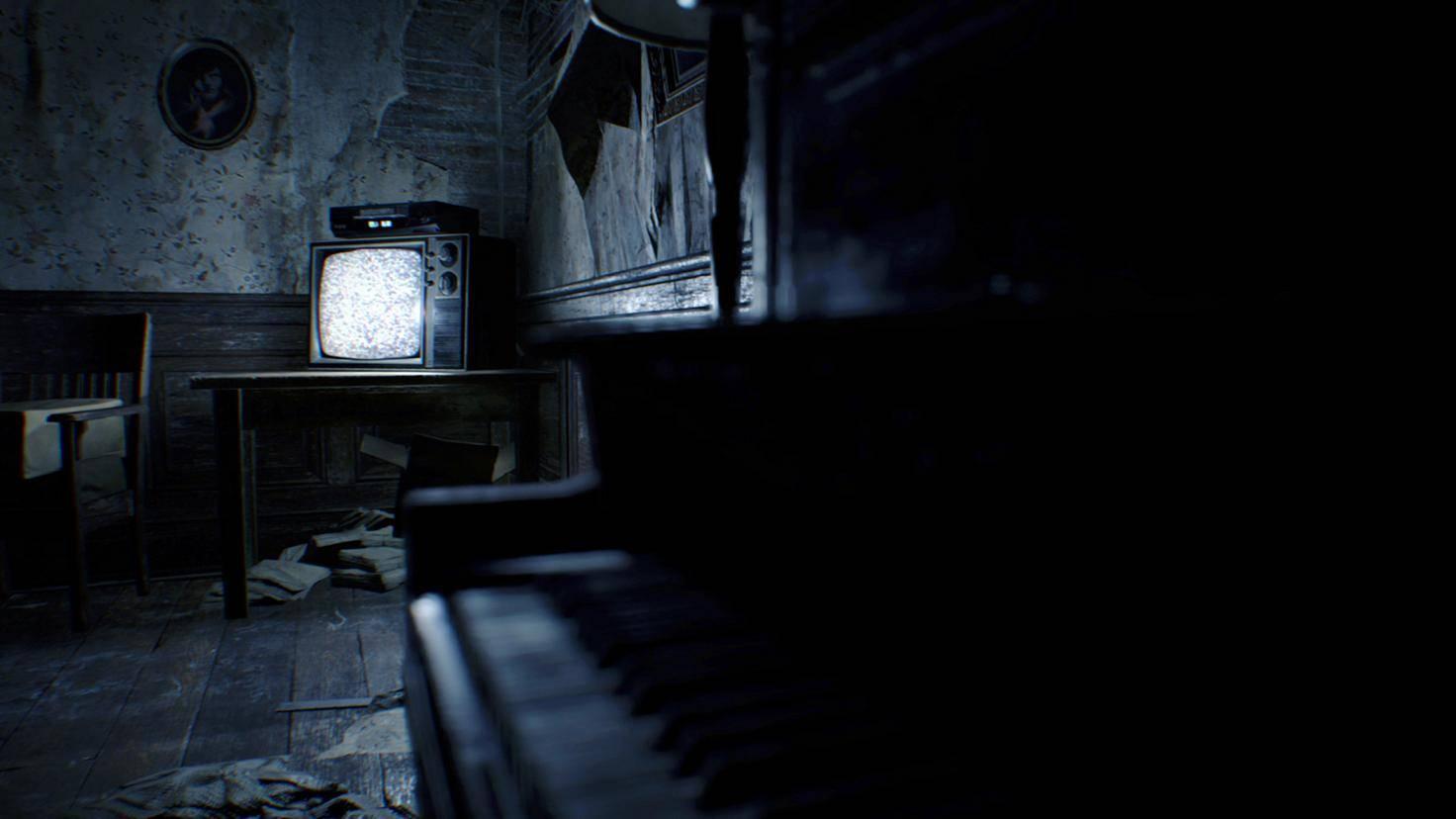 Resident Evil 7 Fernseher
