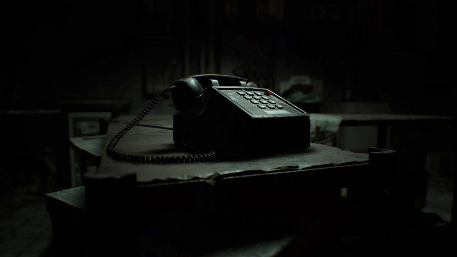 Resident Evil 7 Telefon