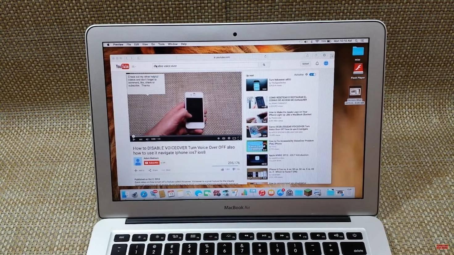 MacBook Screenshot Fenster