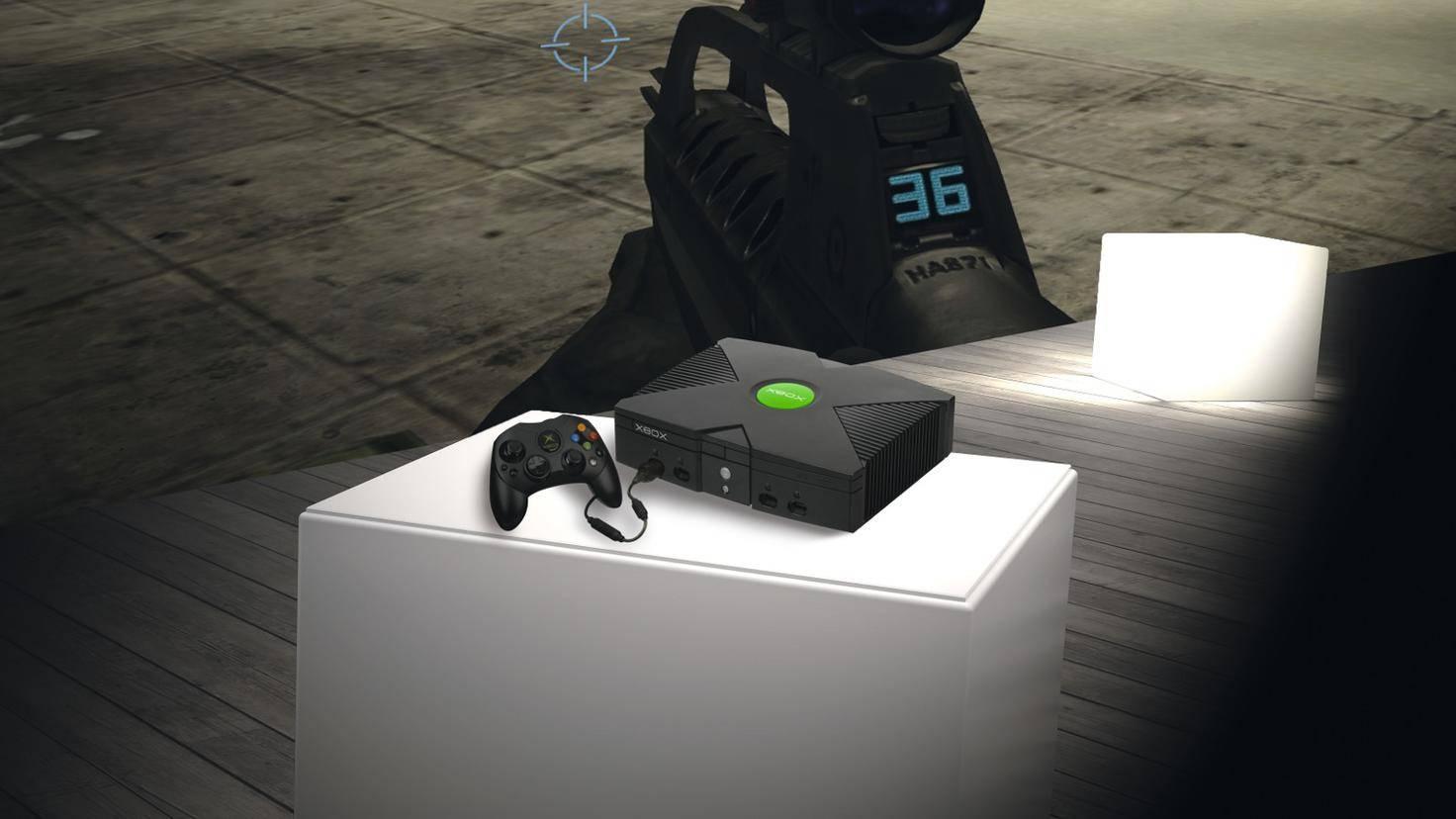 Die Xbox war 2001 eine echte Powerkonsole und konnte sogar zum DVD-Player erweitert werden.