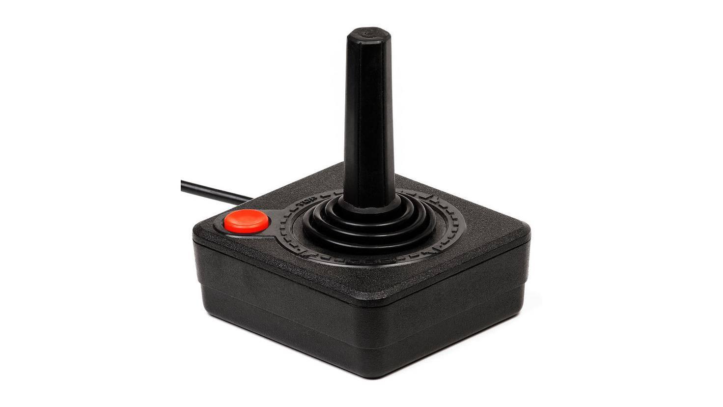 Der Joystick holte das Spielgefühl von Arcade-Spielhallen auf die heimische Konsole.