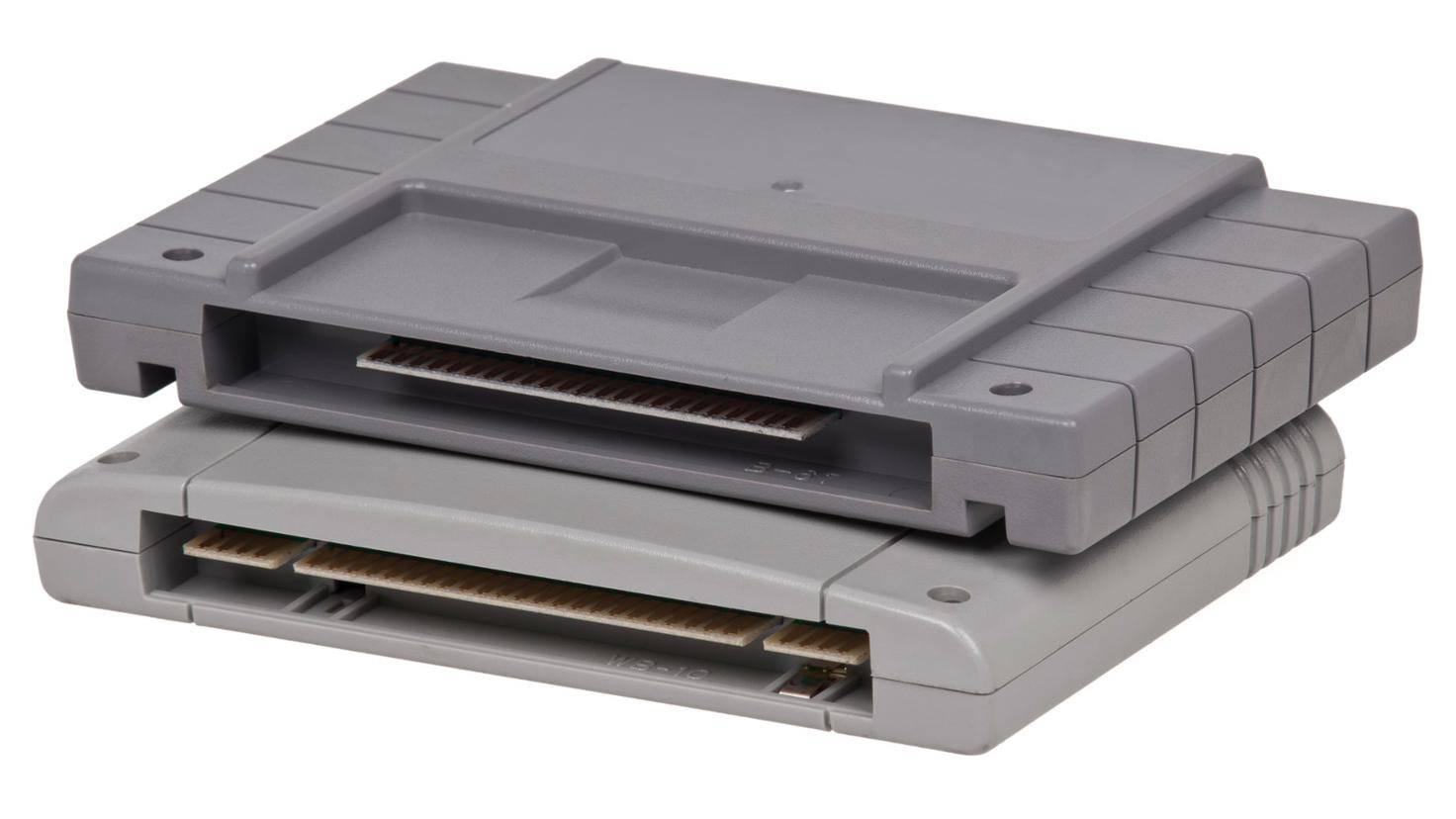 Eckiger als eine DVD, trotzdem eine runde Sache: Spielemodule (hier für das SNES).