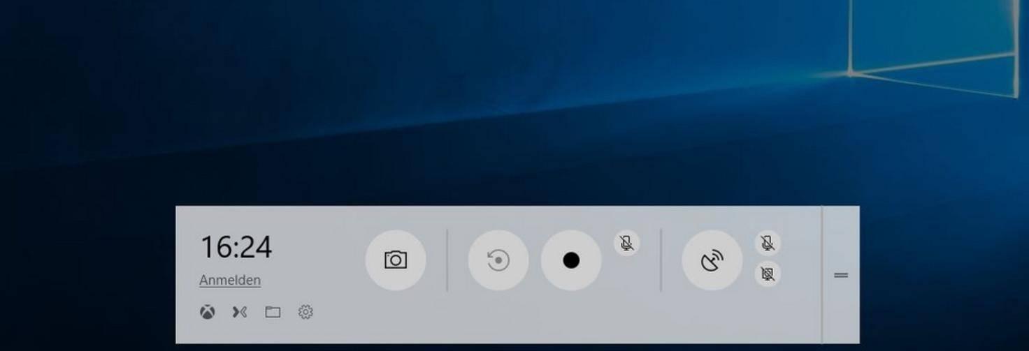 Windows-10-Spielleiste