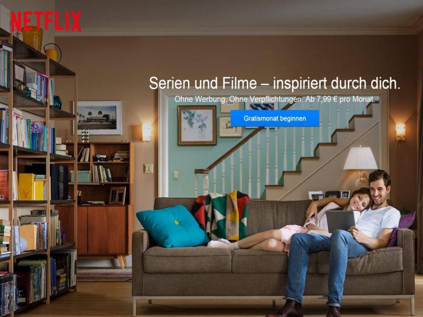 Die Nummer 1 in der Welt: Netflix