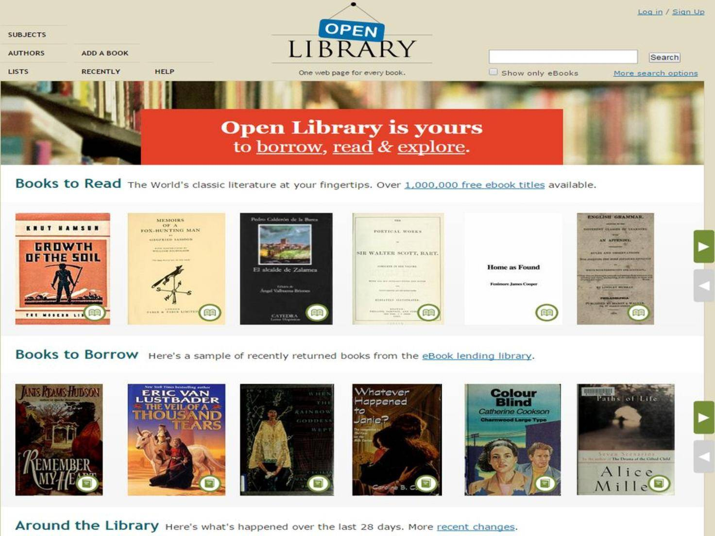 Welcome to Open Library  Open Library
