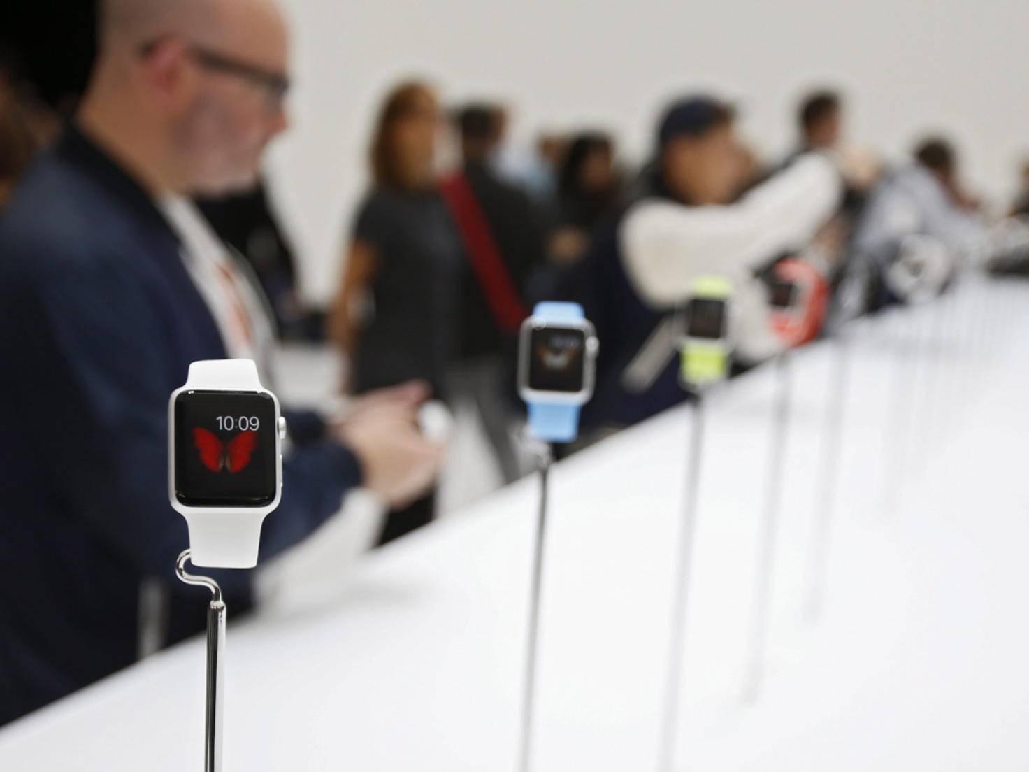 Die Apple Watch könnte der Smartwatch-Branche zum Durchbruch verhelfen.