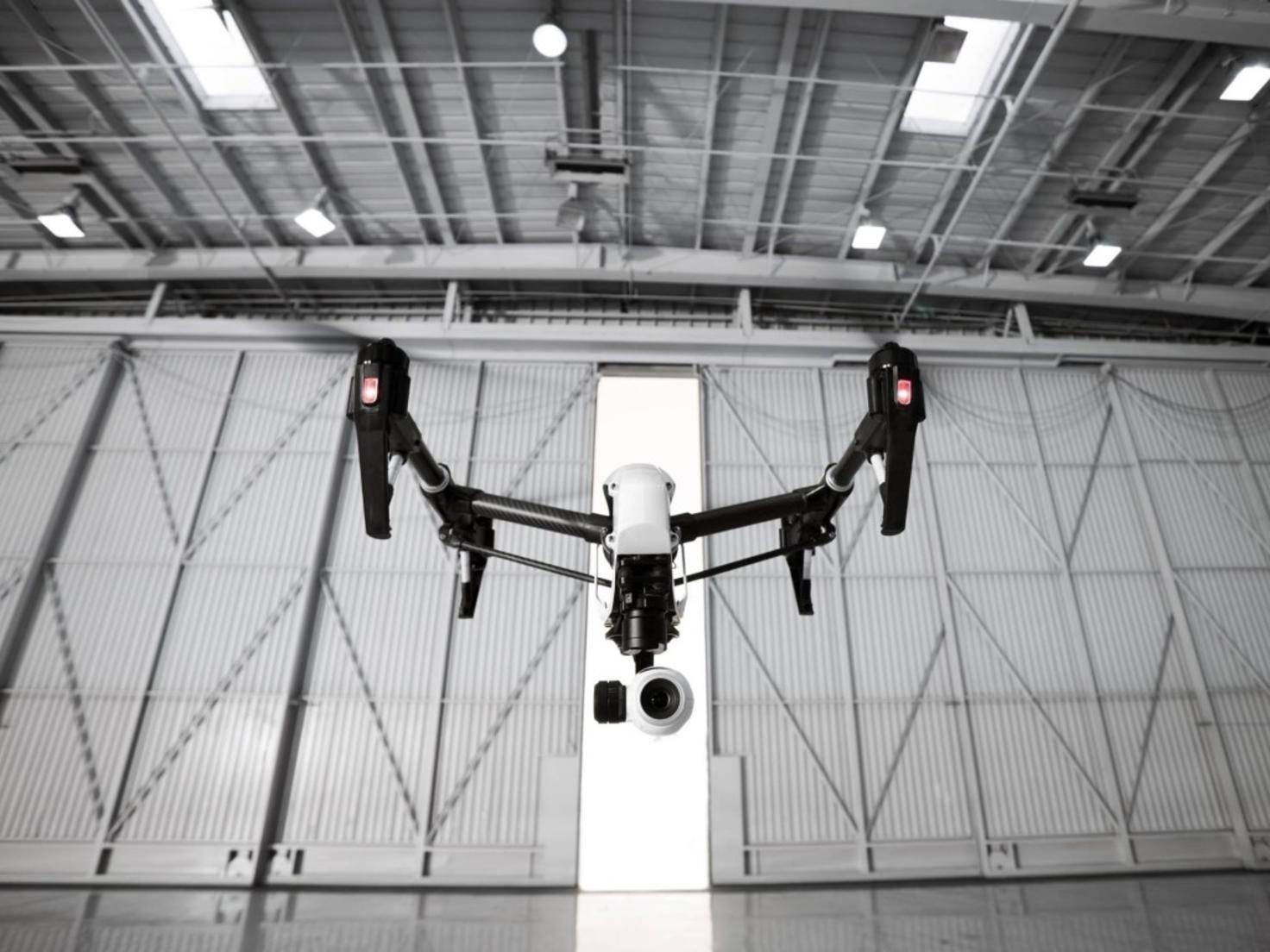 2015 bekommen Drohnen wie die DJI Inspire 1 wohl Konkurrenz von GoPro.