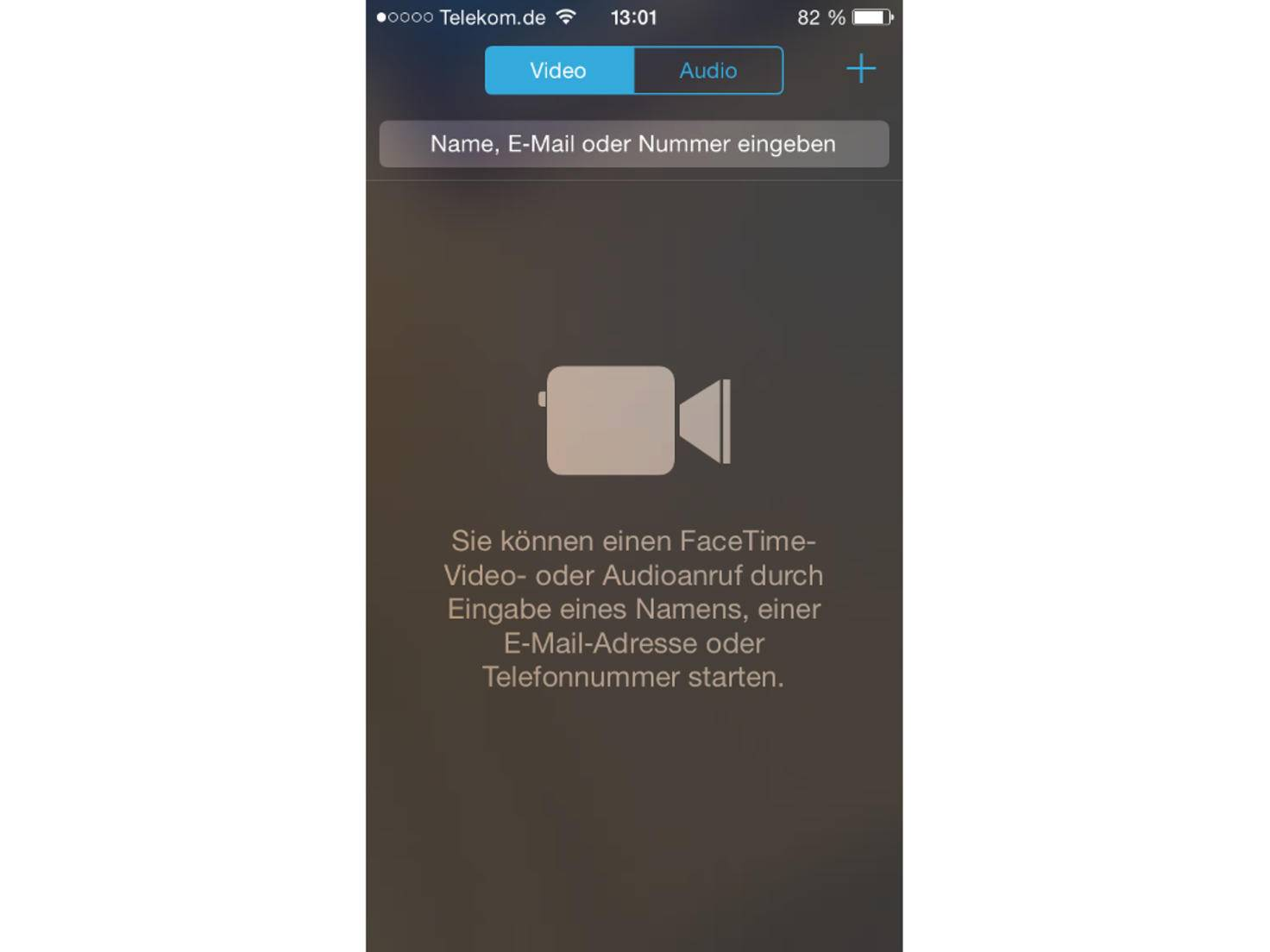 FaceTime funktioniert nur auf Apple-Geräten.