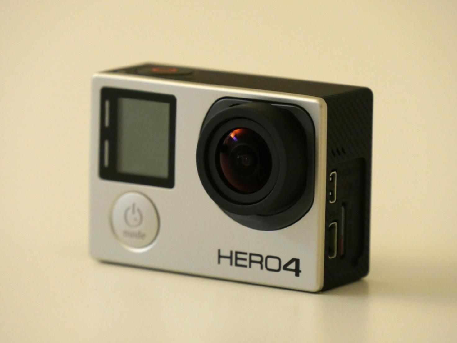 Die GoPro Hero 4 Black Edition ist das neue Flaggschiff des Herstellers.