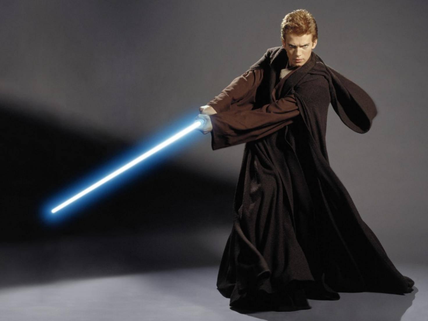 Lichtschwert aus Star Wars