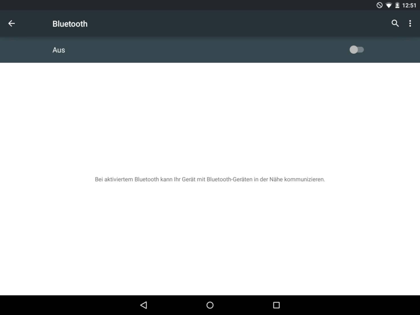 Bluetooth sollte immer ausgeschaltet werden, wenn es nicht benötigt wird.