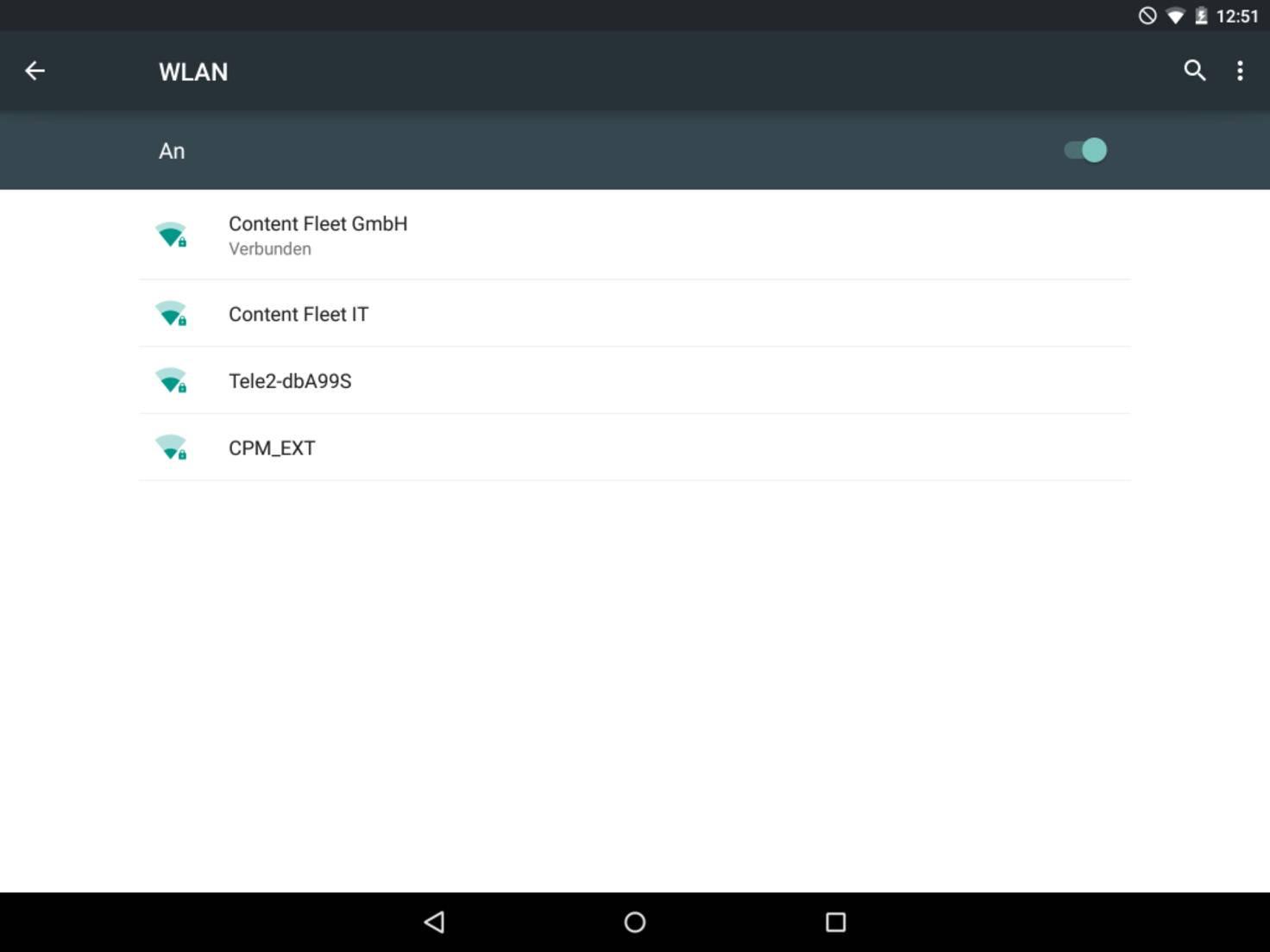 Die ständige Suche nach WLAN-Netzwerken belastet den Akku.