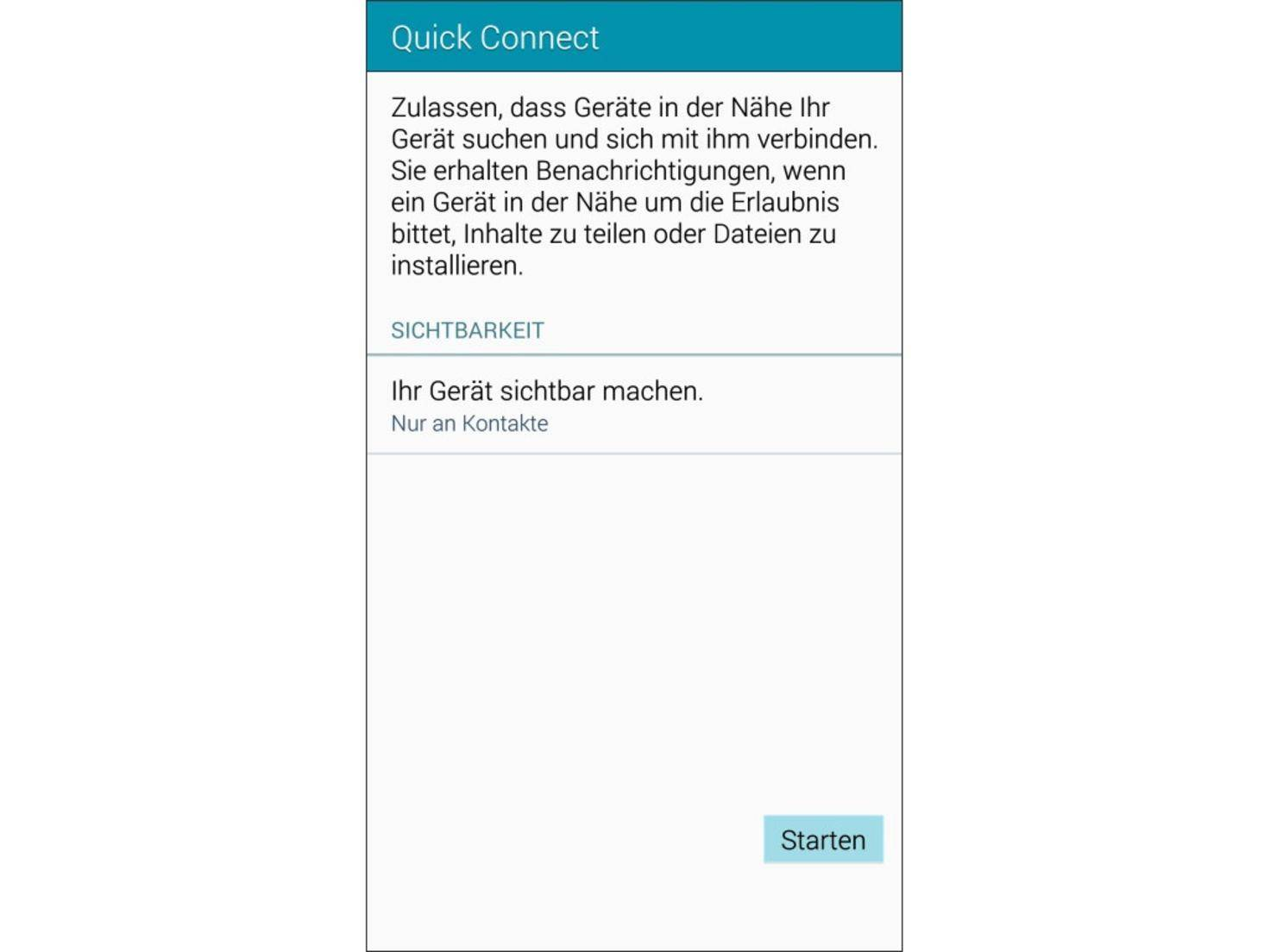 Auch andere Geräte können auf das Galaxy Note 4 zugreifen.