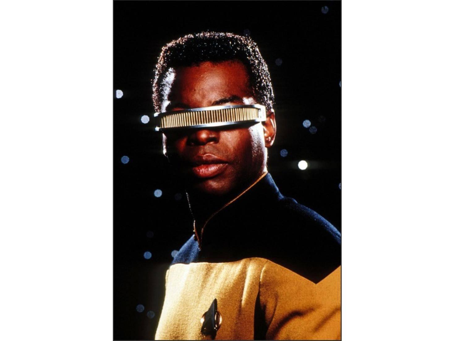 VISOR aus Star Trek