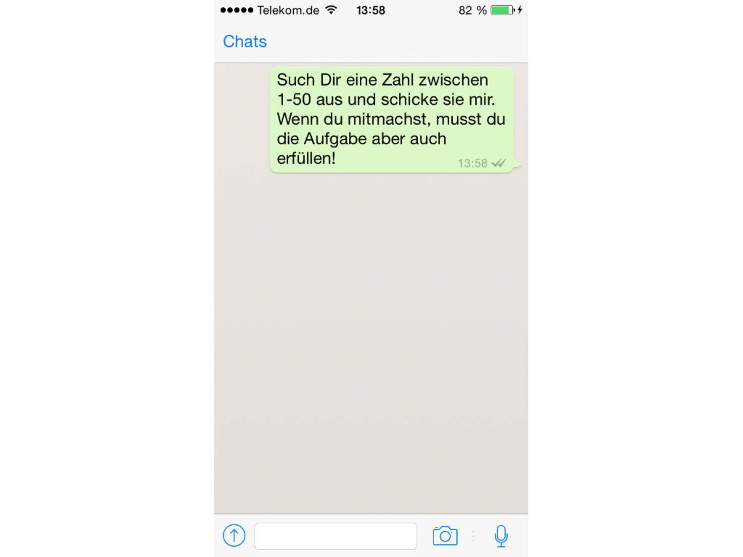 Whatsapp Spiel 1-50 Lösung