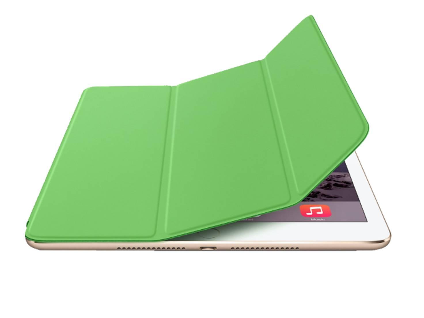Mit dem Smart Cover ist das iPad bestens geschützt.