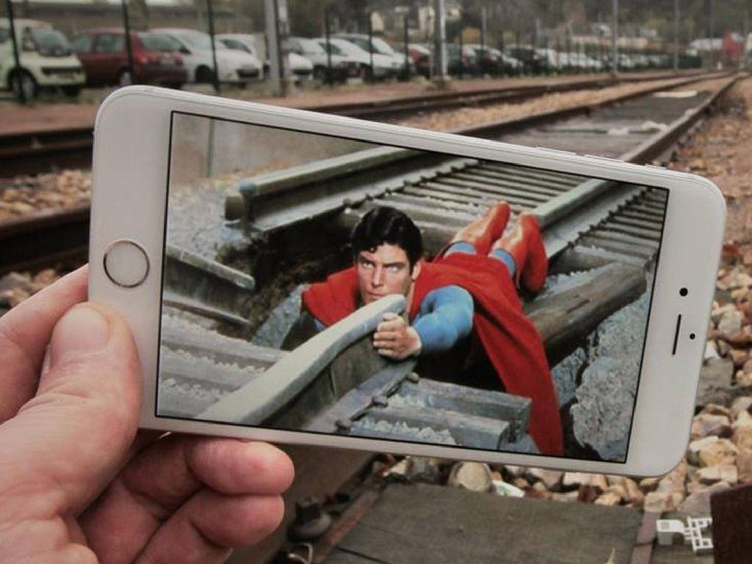 Auch im realen Leben hat Superman viel zu tun.