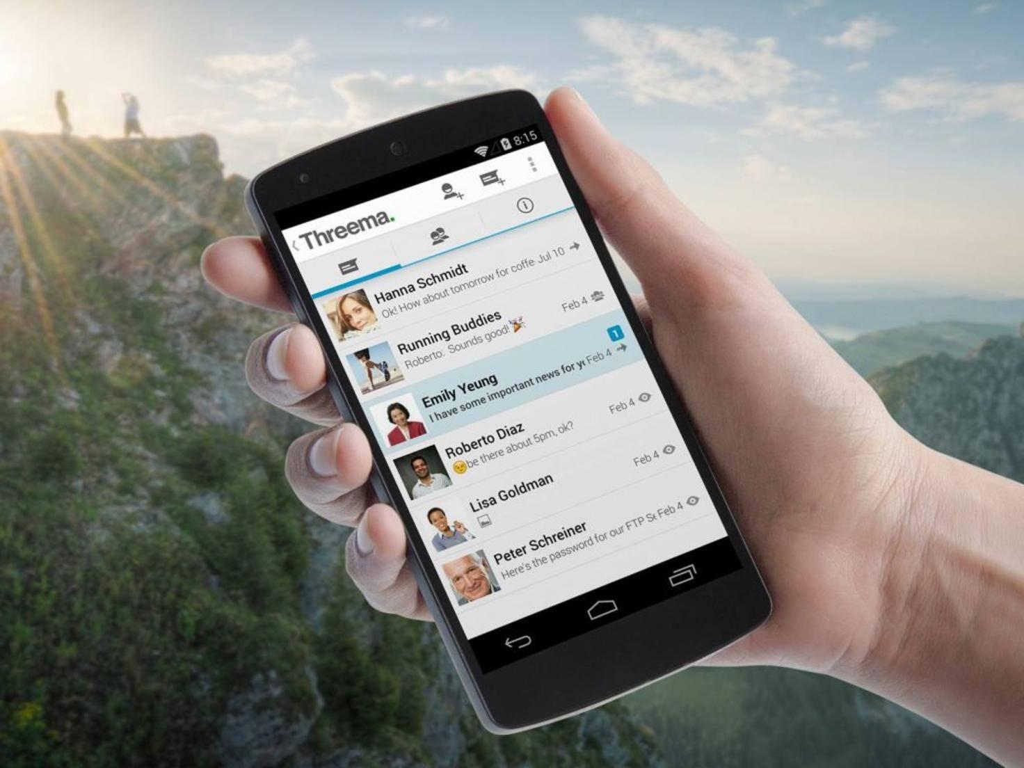 Hat WhatsApp bald ausgedient? Threema ist auf Platz 2.