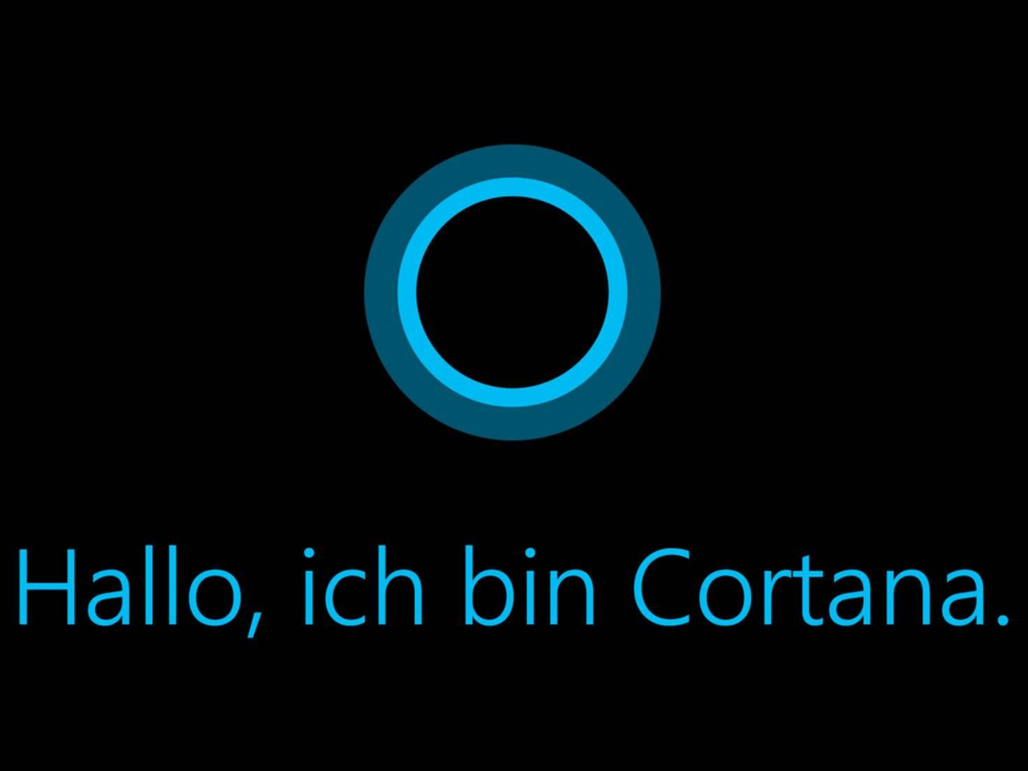 Microsofts Sprachassistentin Cortana spricht jetzt auch deutsch.
