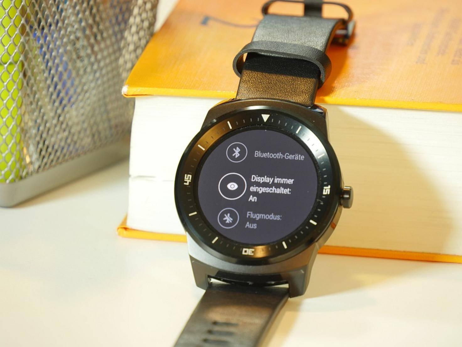 LG G Watch R Einstellungen