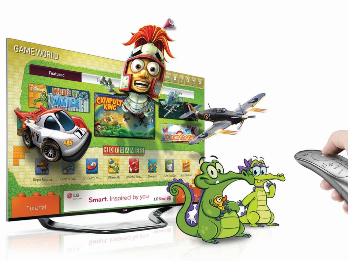 LG Spiele für 3D-TV