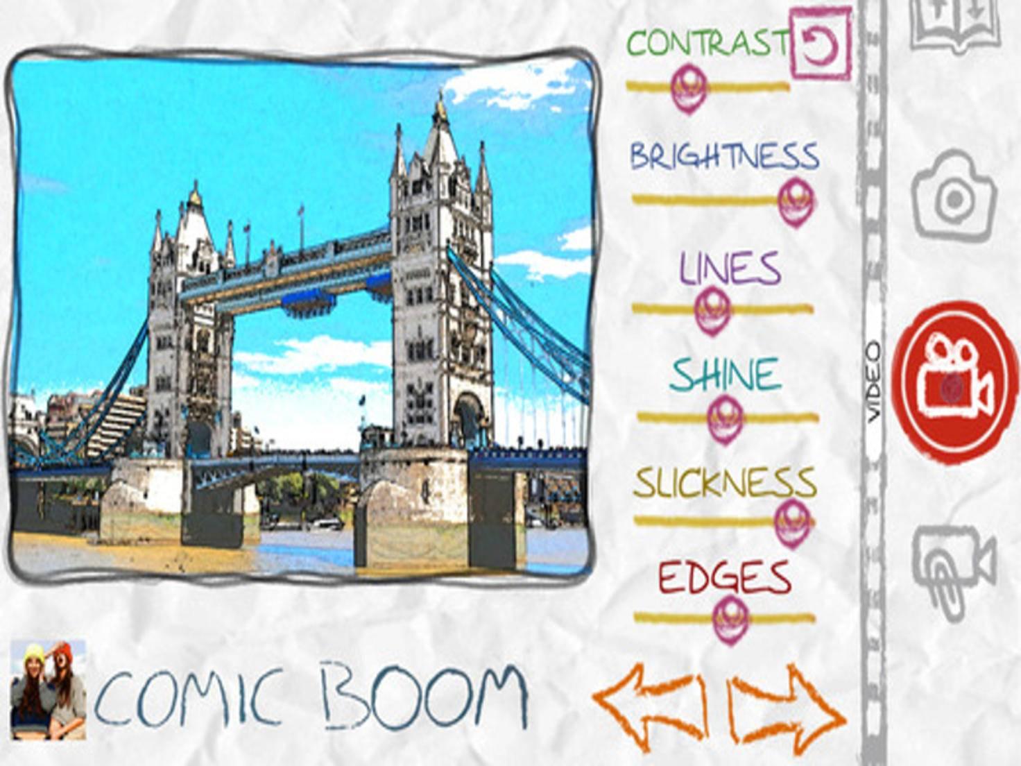Paper Camera verwandelt Fotos in Comic-Zeichnungen.