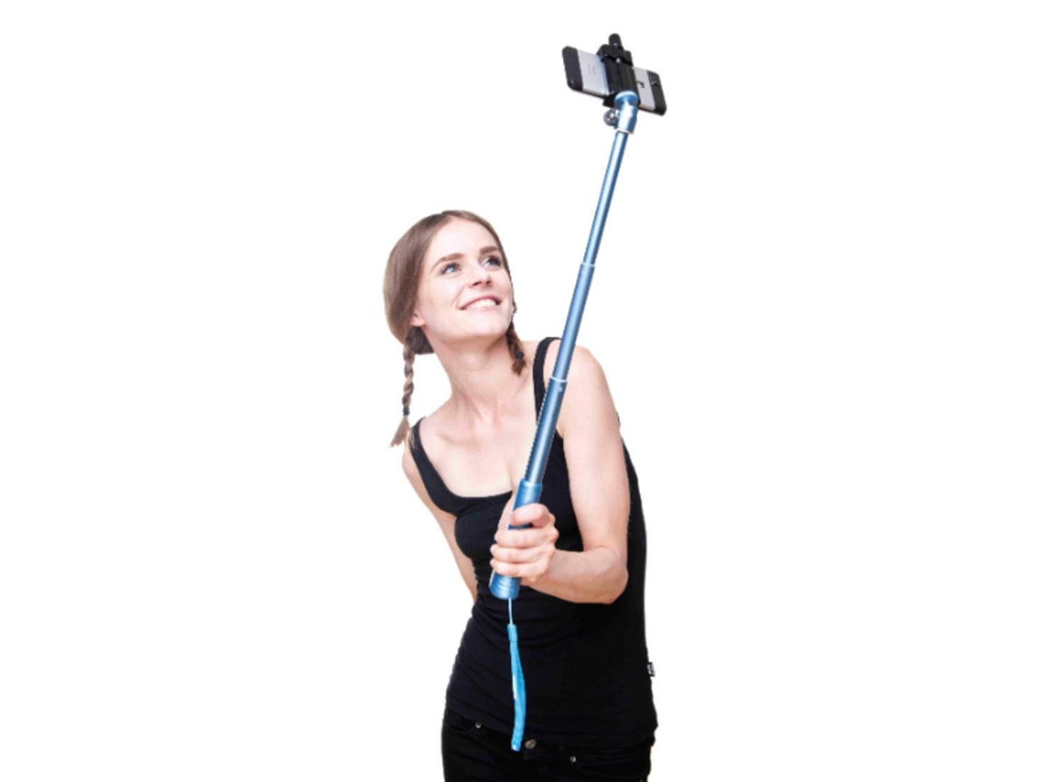 Der Rollei Selfie-Stick ist in verschiedenen Farben erhältich.