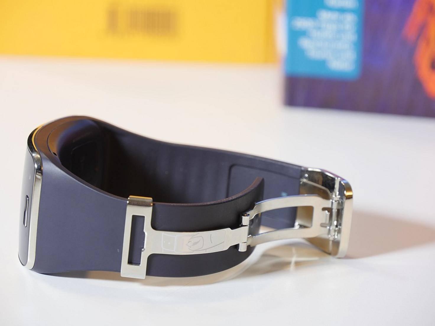 Das Armband besteht aus Kunststoff – ist aber austauschbar.