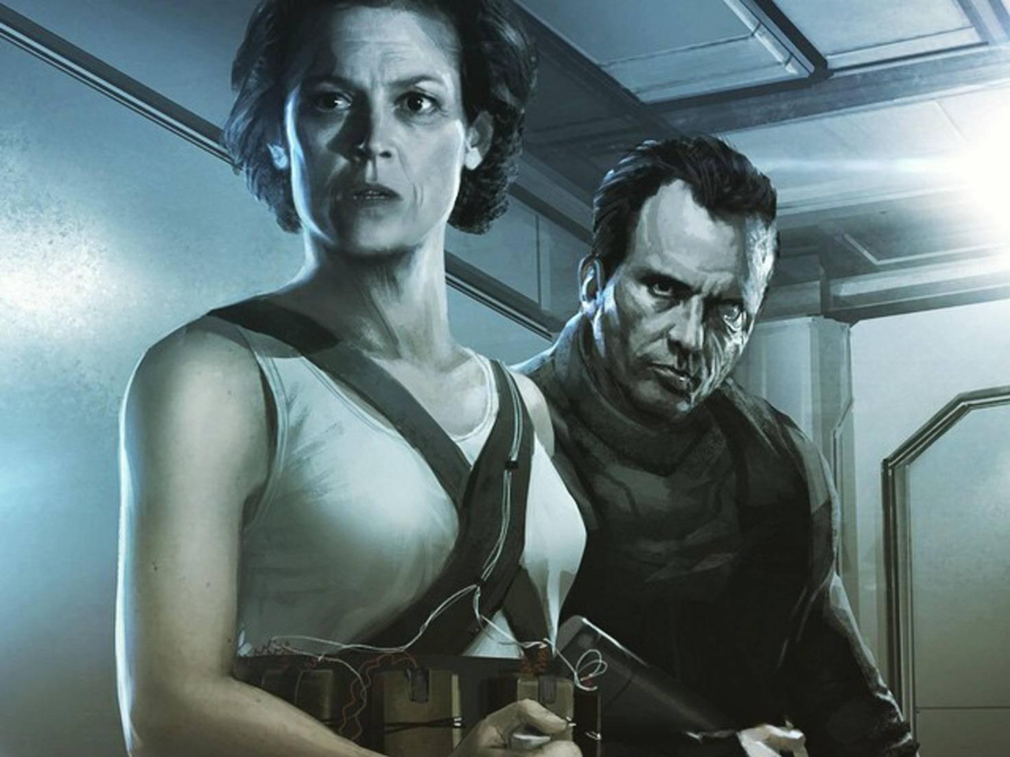 """Concept-Art vom geheimen """"Alien""""-Film"""