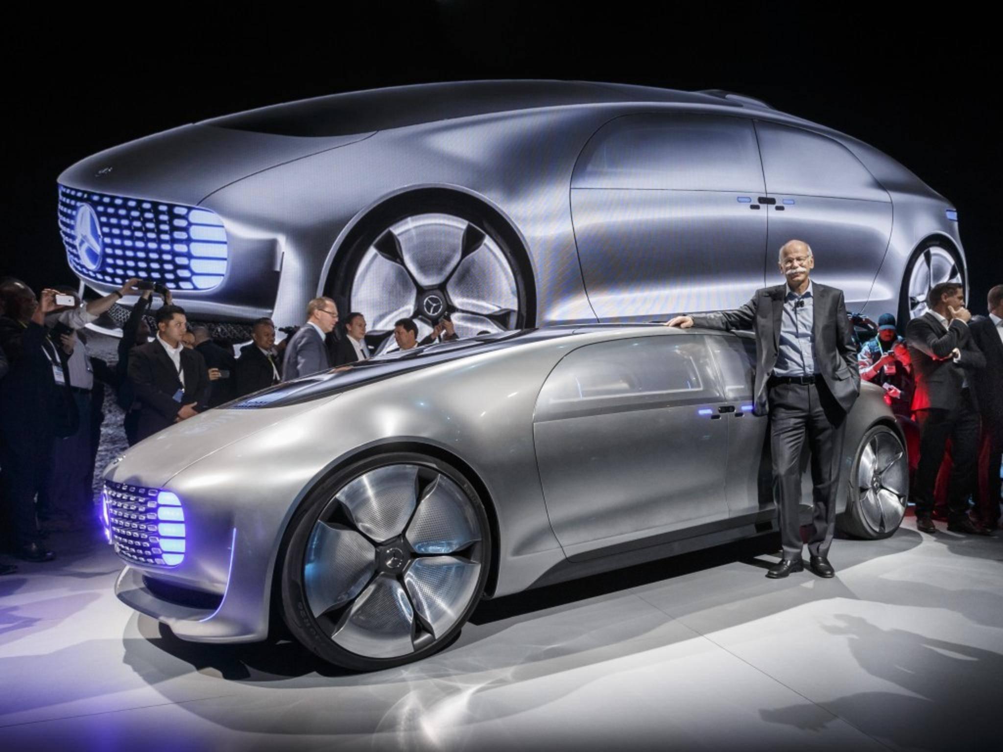 Das über fünf Meter lange Concept Car soll autonom fahren können.