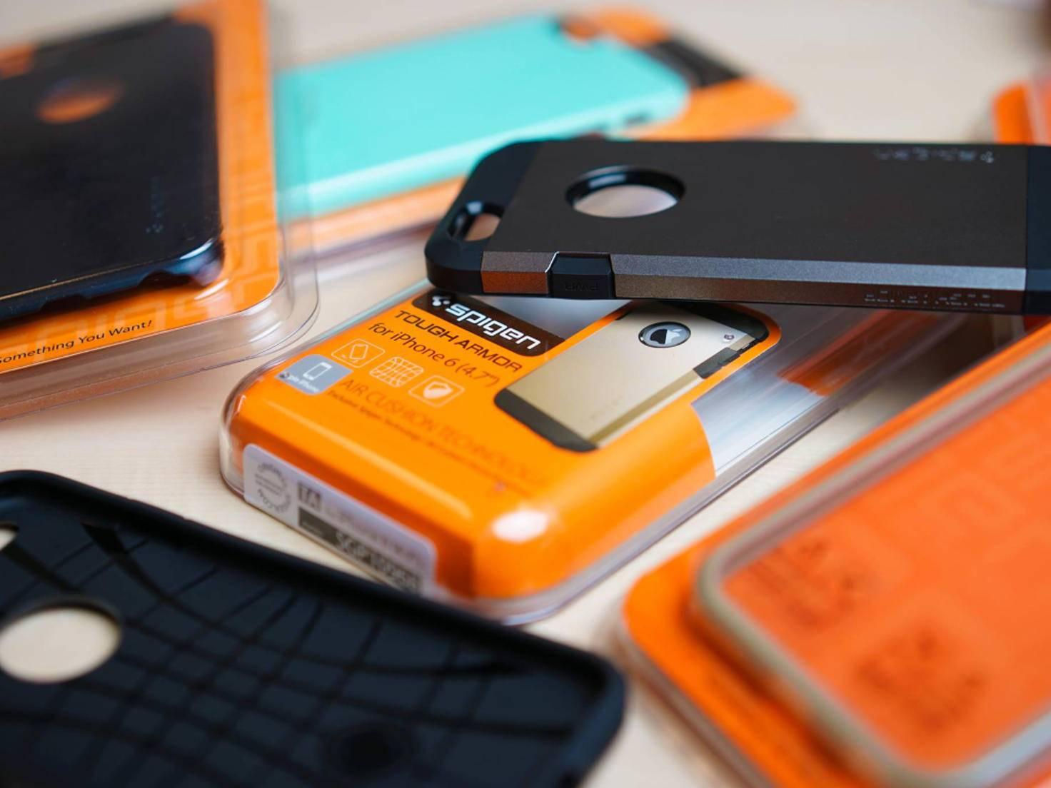 Das Spigen Tough Armor-Case für das iPhone 6 ist robust und günstig zugleich.